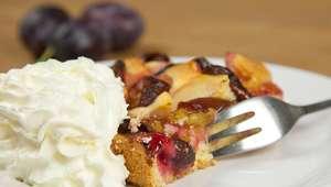 La tarta de ciruelas, un clásico para degustar durante otoño