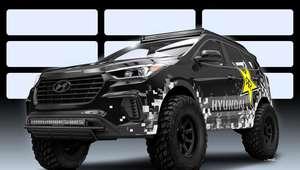 Hyundai: Santa Fe Concept Rockstar en SEMA