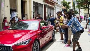 INFINITI Q60 el primer auto americano en Cuba