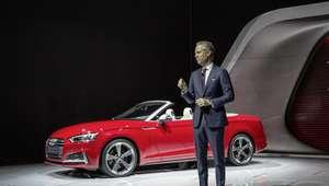 Tres poderosos autos de Audi en el Detroit Motor Show