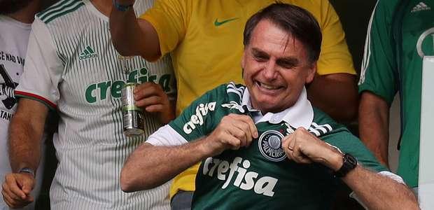 Bolsonaro cancela ida a evento para ver jogo do Palmeiras
