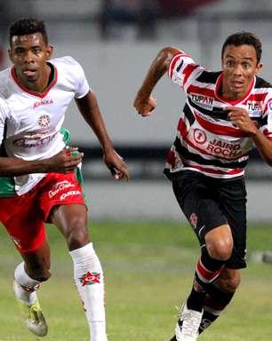 Santa Cruz empata com Boa e chega a cinco jogos sem vencer