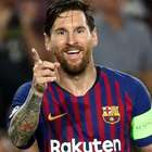 Barça goleia PSV com 3 de Messi; Inter vira sobre Tottenham