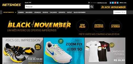Netshoes antecipa Black Friday com descontos no mês inteiro