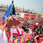 Venezuela: Maradona en cierre de campaña de Maduro