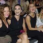 Un front row de bellas actrices para la exótica Moda Baño