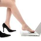 Mulheres que usam salto no trabalho parecem ...