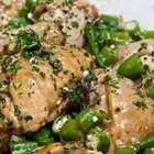 Veja receita de frango com quiabo e polenta