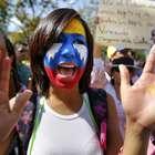 La oposición se manifiesta y todos rechazan la violencia ...