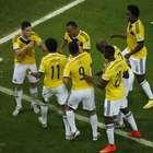 Veja fotos de Colômbia x Uruguai