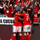 Benfica golea al colista y será campeón si Porto pierde