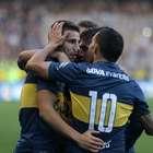 Boca, con gol de Tevez, goleó a Banfield por Copa Argentina