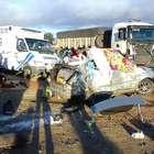 vc repórter: acidente com 3 veículos mata mãe e filho na BA