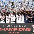 El PSG derrota al Lyon y conquista la Supercopa de Francia