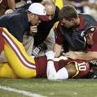 ¡Cuidado Redskins! Griffin III se lesiona en pretemporada
