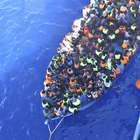 Cientos de víctimas al hundirse dos barcos frente a Libia