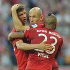 Con Vidal titular el Bayern Múnich golea al Bayer Leverkusen
