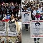 Chile, México, Argentina, golpeados por desapariciones