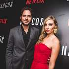 Manolo Cardona, en la alfombra roja de la serie 'Narcos'