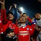 Argentina lidera el ránking FIFA, Chile es octava