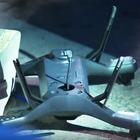 Un dron se estrella en la grada durante un juego del US Open