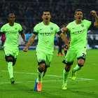 El 'Kun' da triunfo de último minuto al City ante Borussia