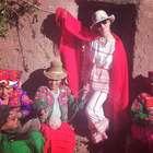 Katy Perry volvió al Perú y visitó el Lago Titicaca