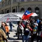Locatarios del Mall del Mueble protestan por desalojo