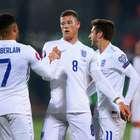 Inglaterra bate Lituânia e termina 100% em dez jogos
