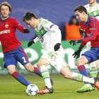 Wolfsburgo derrota al CSKA y sueña con octavos de Champions