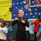 Pink es embajadora de UNICEF contra desnutrición infantil