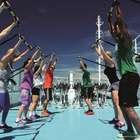 Ballet e circo fitness são atração de cruzeiro temático