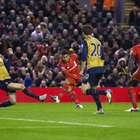 Arsenal se deja empatar sobre la hora ante Liverpool