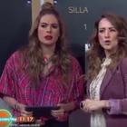 VIDEO: Andrea Legarreta se burla de su comentario del dólar