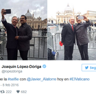 La polémica selfie de López Doriga y Javier Alatorre