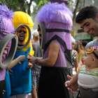 Criatividade e ousadia nas fantasias dos foliões pelo Brasil
