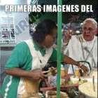 Memes por la vista del Papa a México