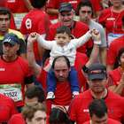 FOTOS: las mejores imágenes del Maratón de Santiago 2016