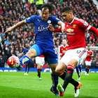 Leicester empata com United fora e título inglês é adiado