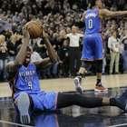 Thunder empata en gran partido serie contra Spurs