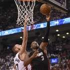 Heat supera a Raptors en tiempo extra en inicio de la serie