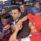Neymar é agredido por torcedor do Granada ainda em campo