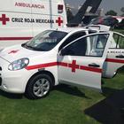 Nissan March Emergencia, colaborando con la Cruz Roja