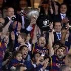 Galería: Así celebró el Barcelona la Copa del Rey