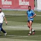La lesión de Cristiano Ronaldo se queda en un susto