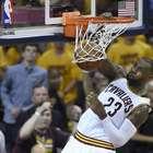 Cavaliers aplastan a Raptors y se acercan al campeonato