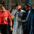 ¡TERROR EN ARGENTINA! se lesiona Lionel Messi