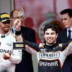 Sergio Pérez llega al podio de tercer lugar en el Gran ...