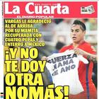 Diarios se burlan de la goleada de Chile ante México