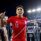 Ruidíaz admite que gol contra o Brasil foi feito com a mão